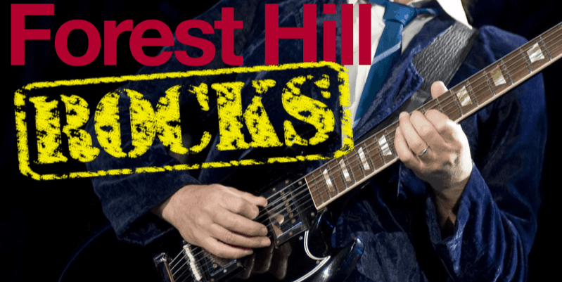 Forest Hill Fundraiser – Rocks!